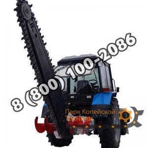 Грунторезы на базе колесных тракторов